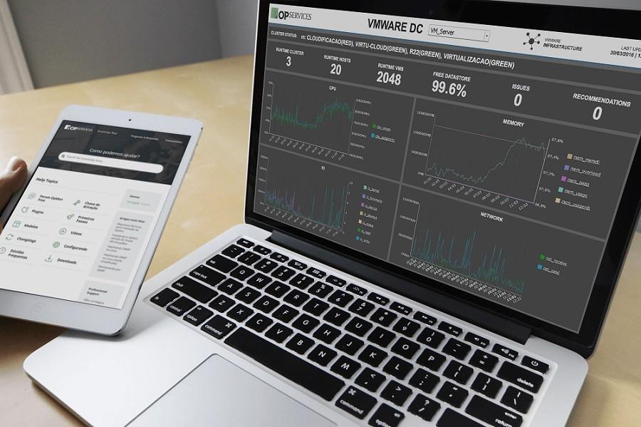 dashboards para empresas de tecnologia