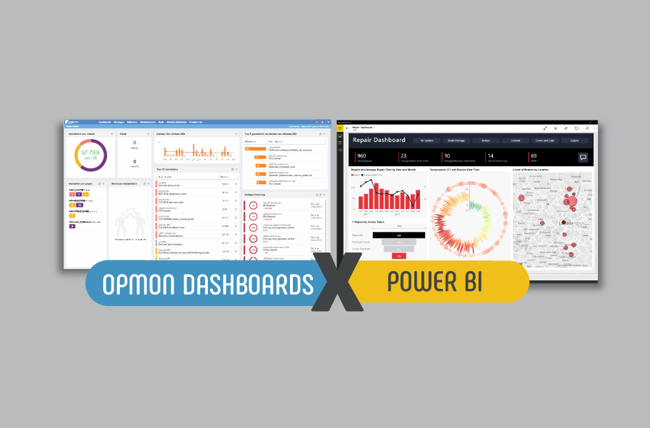OpMon Dashboards e Power BI
