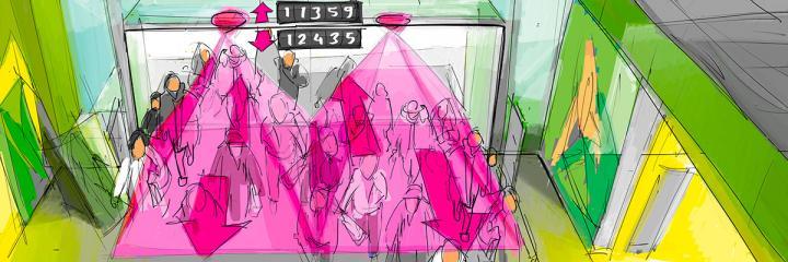 Sensor - contador de pessoas
