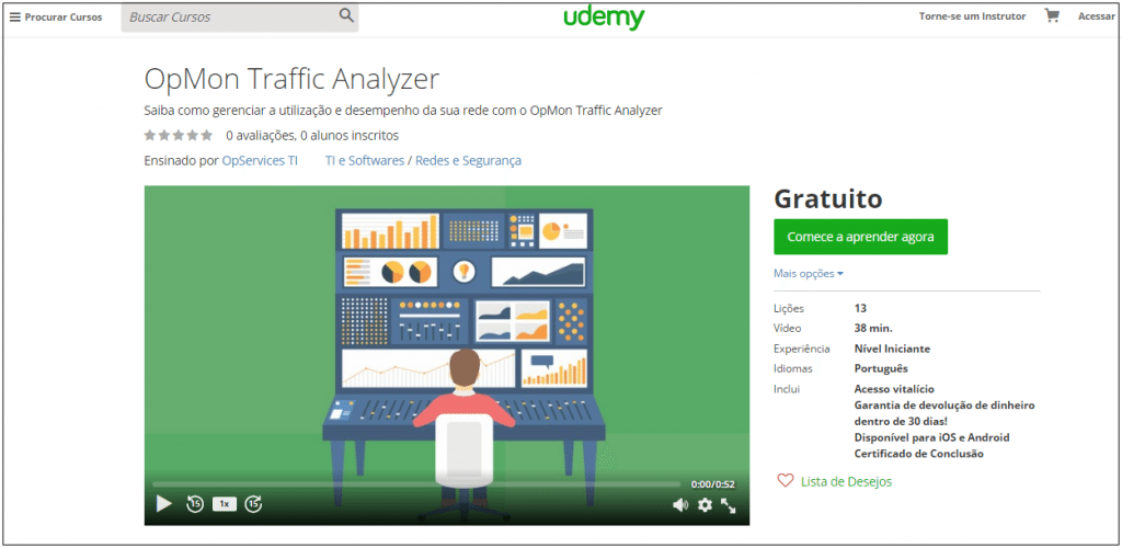 Treinamento OpMon Traffic Analyzer