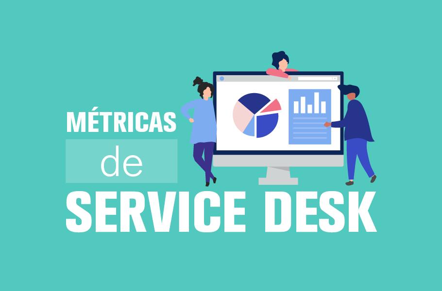 métricas de service desk