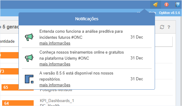 Notificações sobre incidentes futuros