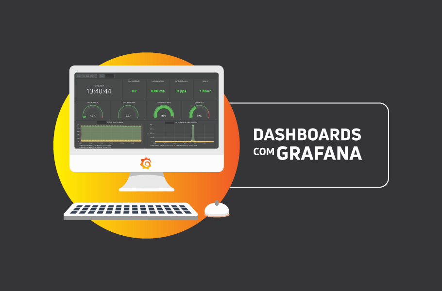 Dashboards com Grafana