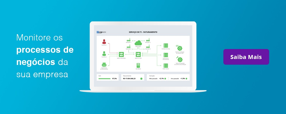 Monitoramento de processos de negócio